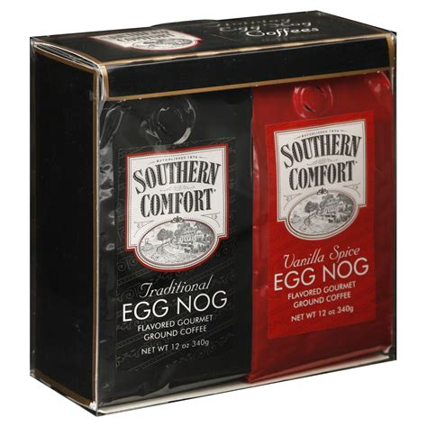 southern comfort egg nog southern comfort coffee flavored gourmet ground
