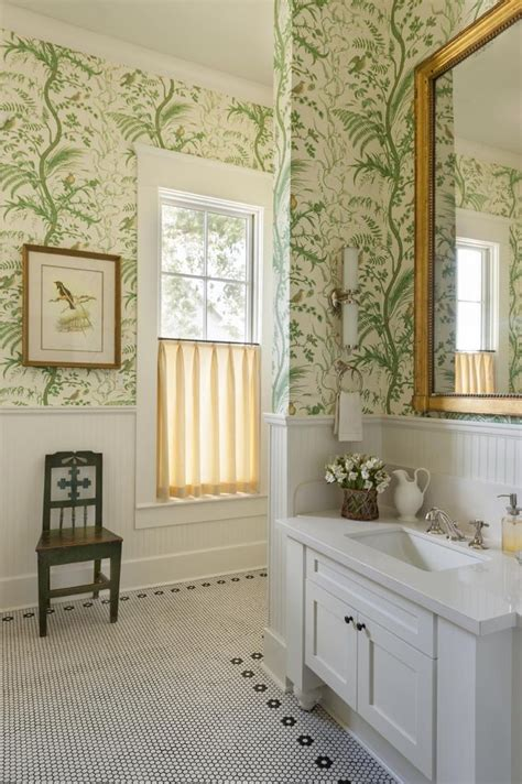 Badezimmer Tapezieren by 17 Best Ideas About Bathroom Wallpaper On Bath