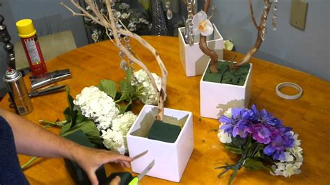 how to make centerpieces how to make and decorate manzanita branch centerpieces