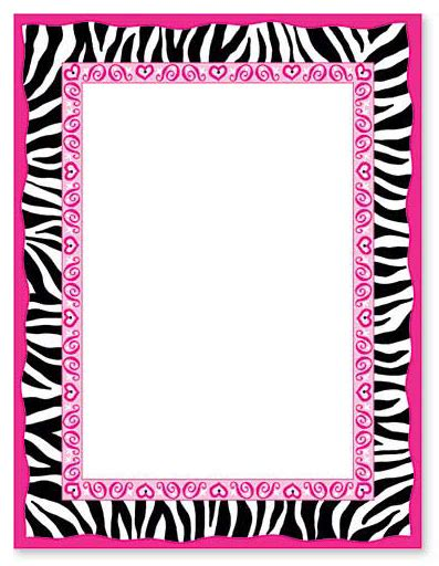 Animal Print Templates by Animal Print Border Clip Clipart Best