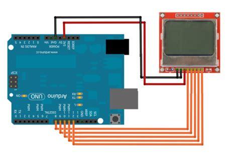 arduino tutorial nokia 5110 arduino nokia 5110 arduino