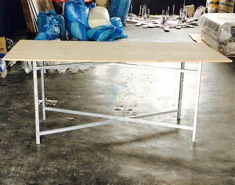 Meja Jualan meja petak untuk kanopi catering pembekal meja petak