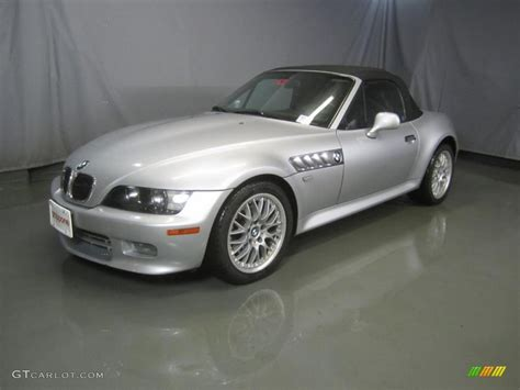 2001 titanium silver metallic bmw z3 3 0i roadster 48025838 gtcarlot car color galleries