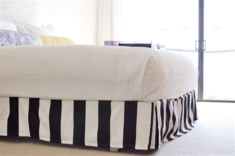 black and white striped bed skirt black and white striped bed skirt german milf pics