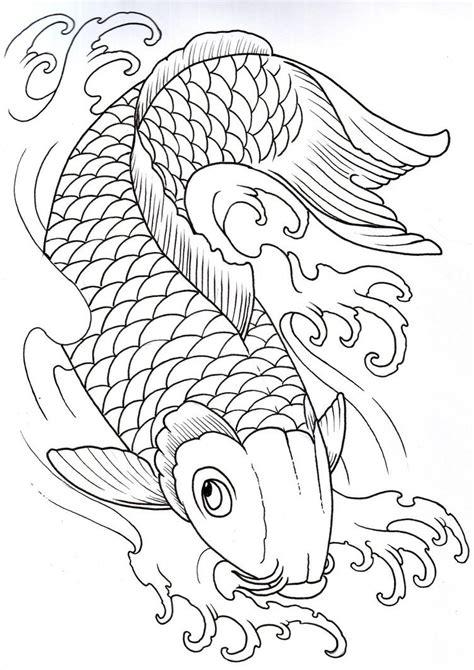 carp fish coloring pages koi carp google search manga pinterest koi carp