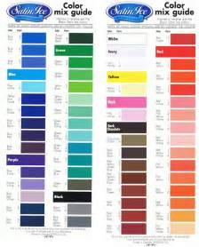 mccormick food coloring chart satin fondant colour mixing chart food tutorial and