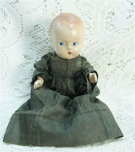 8 inch composition doll early composition 8 inch doll sold dolls their