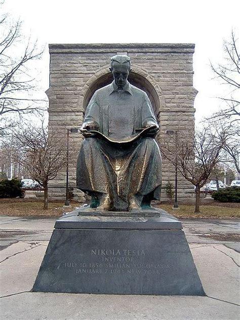 Niagara Falls Nikola Tesla Nikola Tesla Images Statue Of Tesla At Niagara Falls
