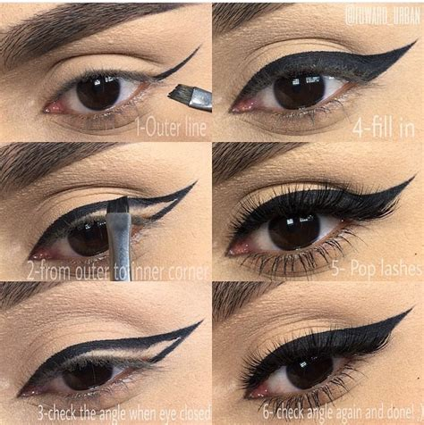 eyeliner tutorial with brush my favorite products eyeliner sarah shireen