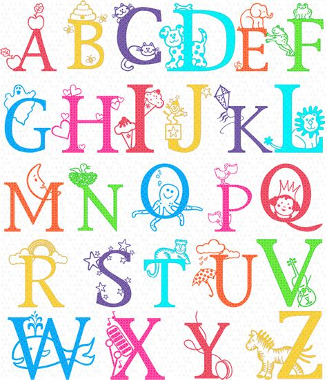 class alphabet clipart instant teaching clip