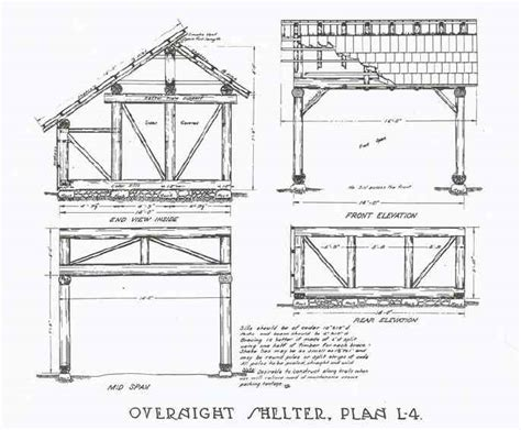 shelter house plans wood arbors plans adirondack shelter building plans wood