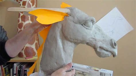 How To Make Clay Out Of Paper - paper mache 2 clay form