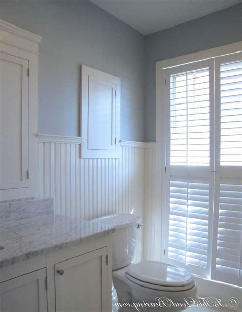 white wainscoting bathroom bathroom inspiring blue and white bathroom decoration