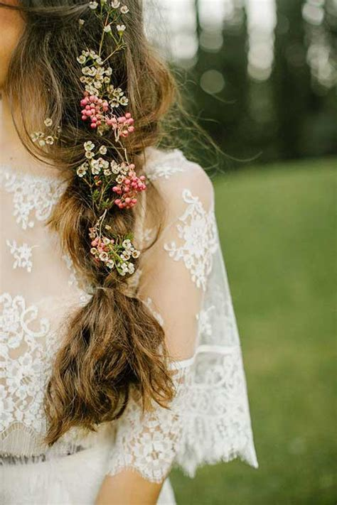 Flower Hairstyles For Hair by 15 Flower Hairstyles Hairstyles 2016 2017