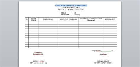 format buku remedial dan pengayaan contoh format buku bimbingan dan penyuluhan quality