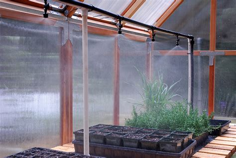 propagation bench greenhouse irrigation the transplant and potting bench curbstone valley