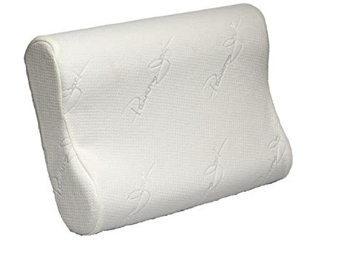 Chiropractic Pillow Side Sleepers by Cervical Contour Pillow Memory Foam Chiropractic Vented