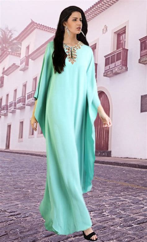 Gamis Abaya Maxi Kaftan Ameera 1923 best images about celadon mint on