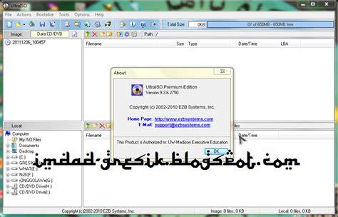 membuat file iso dari harddisk membuka file iso mengedit burning dan convert cd dvd ke