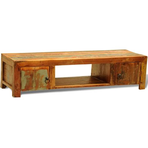 wood tv cabinet with doors reclaimed wood tv cabinet with 2 doors vintage antique