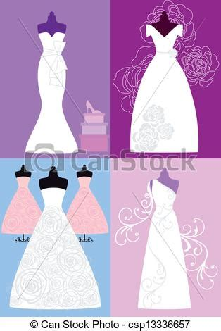 Nuptial Marriage by Vecteur Clipart De Robes Nuptial Mariage Robes