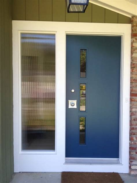 How To Make A Exterior Door Make Your Own Affordable Door Lite Kits For Your Front Entry Doors Retro Renovation