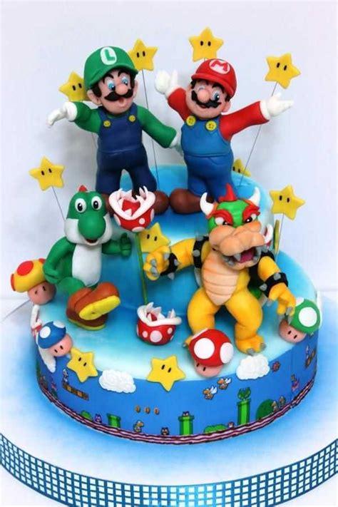 Top  Awesome Super Mario Cake Designs Sli Ntrol M