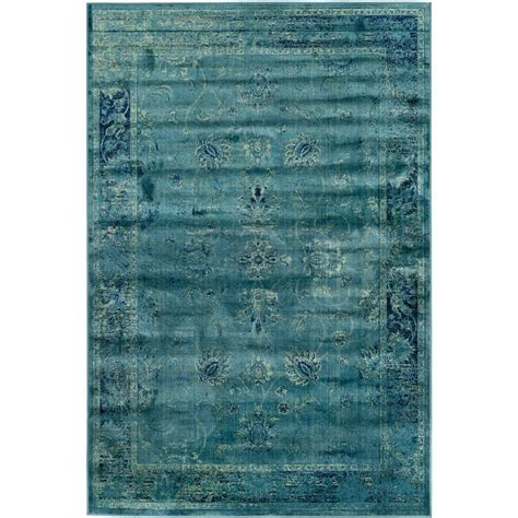 safavieh vintage turquoise multi 5 safavieh vintage turquoise multi 5 ft 3 in x 7 ft 6 in area rug vtg117 2220 5 the home depot