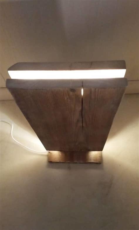Reclaimed Wood Led Floor Lamp ? iD Lights