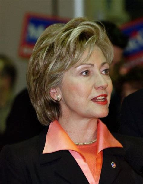 computer hairstyles for hilary clinton hillary clinton s hairstyles through the years 2002