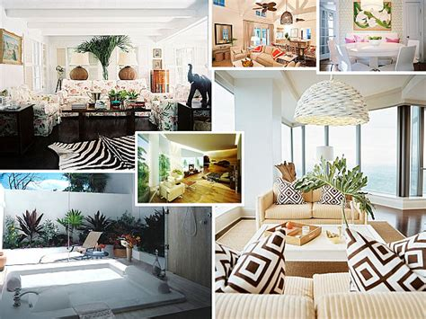 tropical decoration make a splash with tropical interior design