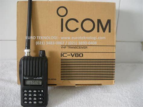 Ht Radio Icom V80 Vhp harga ht icom v80 harga 28 images jual handy talky