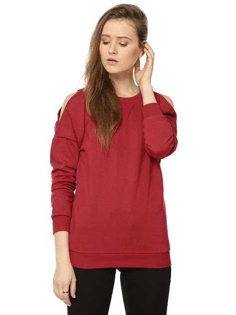 Cold Shoulder Sweatshirt buy femella cold shoulder sweatshirt for s