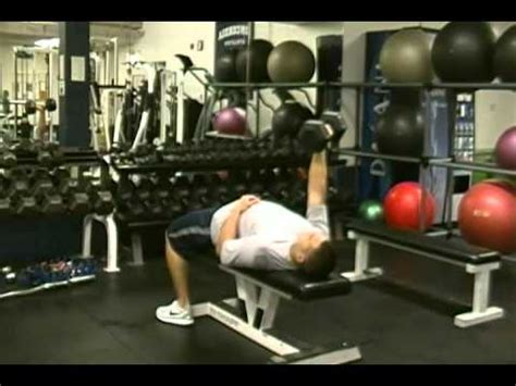 unilateral bench press unilateral dumbbell bench press youtube