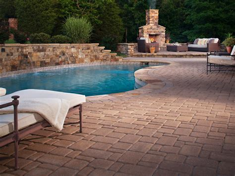 designer pools in ground vs above ground pools hgtv