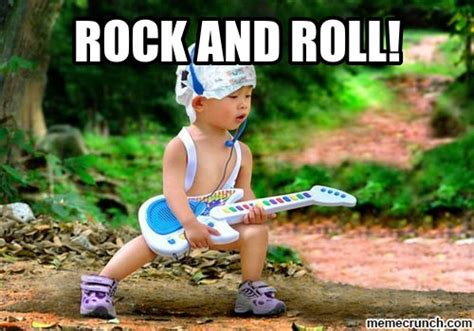 Roll Meme - rock and roll