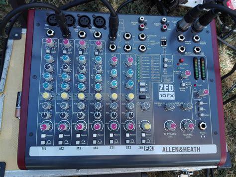 Mixer Allen Heath Zed 10fx allen heath zed 10fx image 1817432 audiofanzine