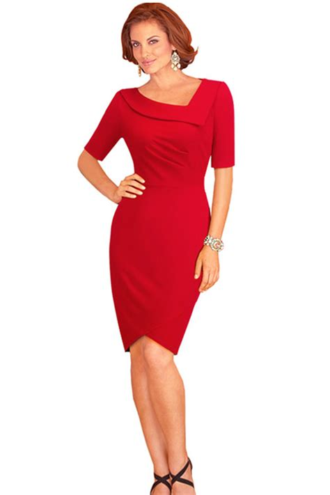 7 Dresses To Wear On Valentines Day by Kettymore Bodycon Shape Neck Day
