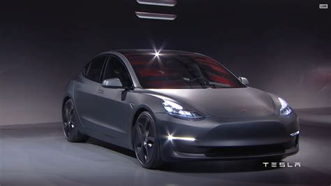 three s tesla model 3 first look review