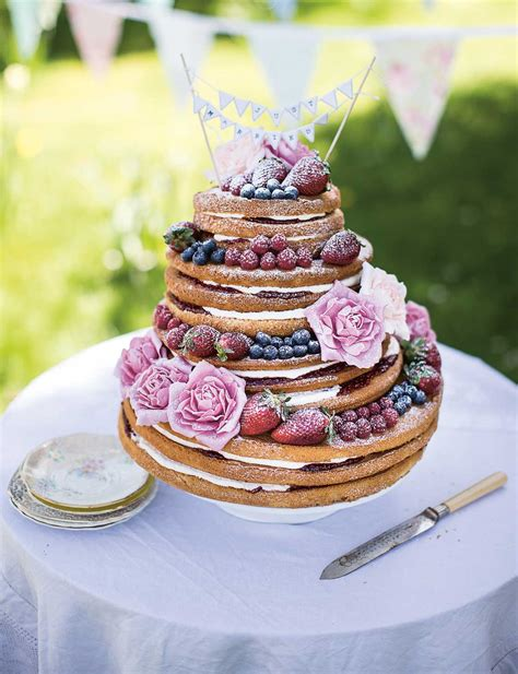 Fish Pot Decoration Victoria Sponge Wedding Cake Sainsbury S Magazine