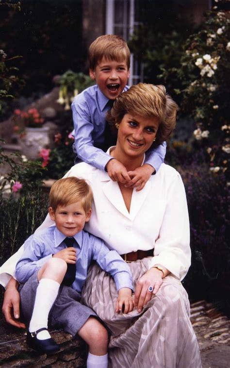 princess diana s children princess diana lives on in her sons what prince harry and william have done this week proves that