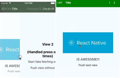layout animation react native exle react native yet another navigator