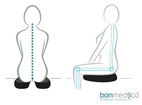dolore osso sacro da seduta bonmedico 174 cuscino per seduta ortopedico con innovativo
