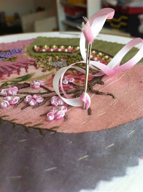 Top Silky Ribbon Side Import 168 best images about embroidery ribbon tutorials on