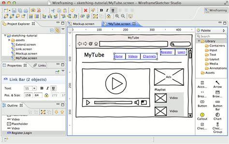 design html mac features wireframesketcher