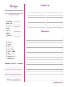 recipe card template word 2007 monogram recipe sheet editable recipe card preppy template