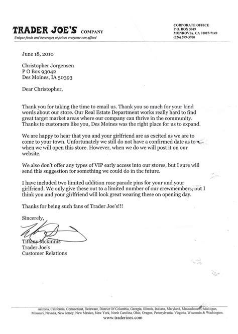 Derivative Trader Cover Letter by Letters Dear Trader Joe S