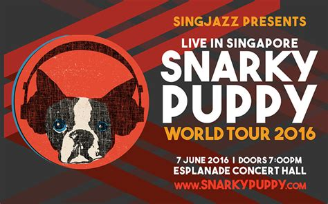 snarky puppy events snarky puppy world tour 2016 esplanade