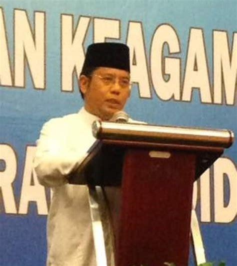 Biarkan Al Quran Menjawab Amin Sumawijaya dirjen pendis jadikan puasa sarana tingkatkan integritas kantor berita islam mina