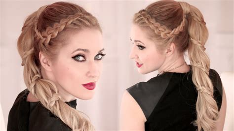 lilith moon josephine hairstyle tutoriol spiral braid tutorial high ponytail hairstyle for long